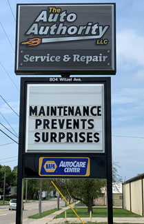 Auto Authority LLC Sign